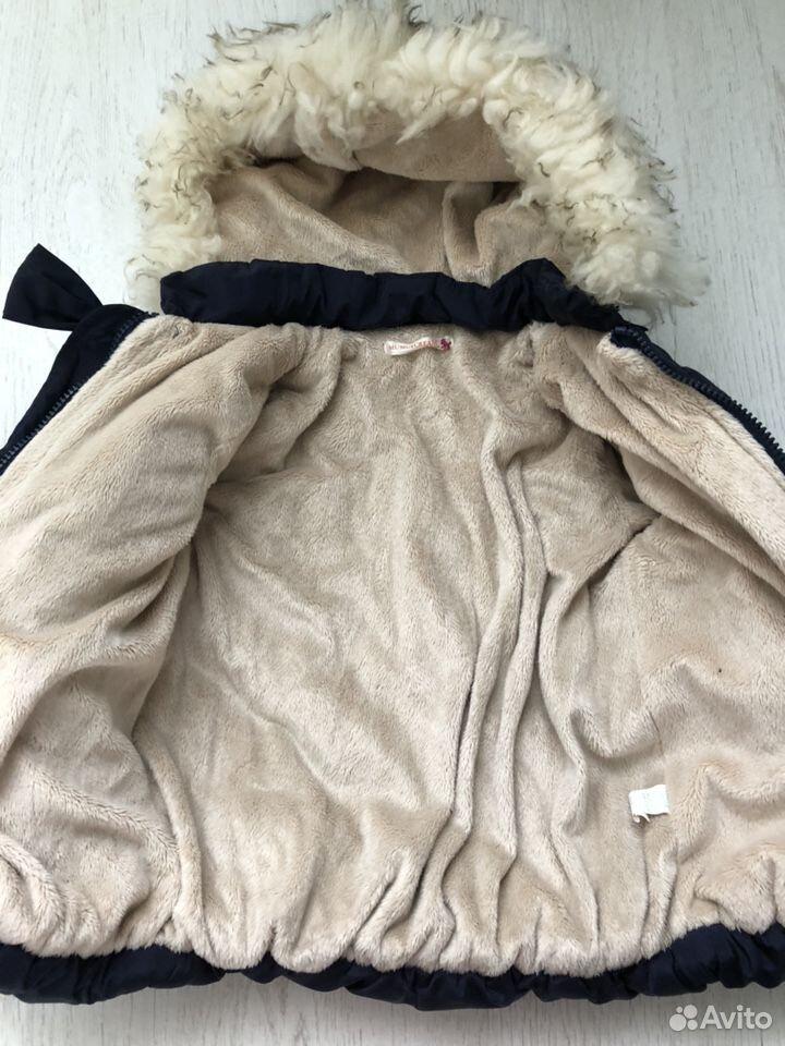 Куртка осень-зима для девочки  89046173116 купить 2