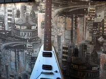 Gibson flying v 2011 + чехол gibson