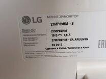 Монитор LG 27MP89HM-S