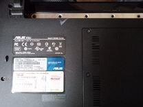 Ноутбук asus K52JR на запчасти
