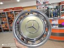 Оригинальный колпак Mercedes Хром
