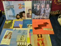 Пластинки 80-х