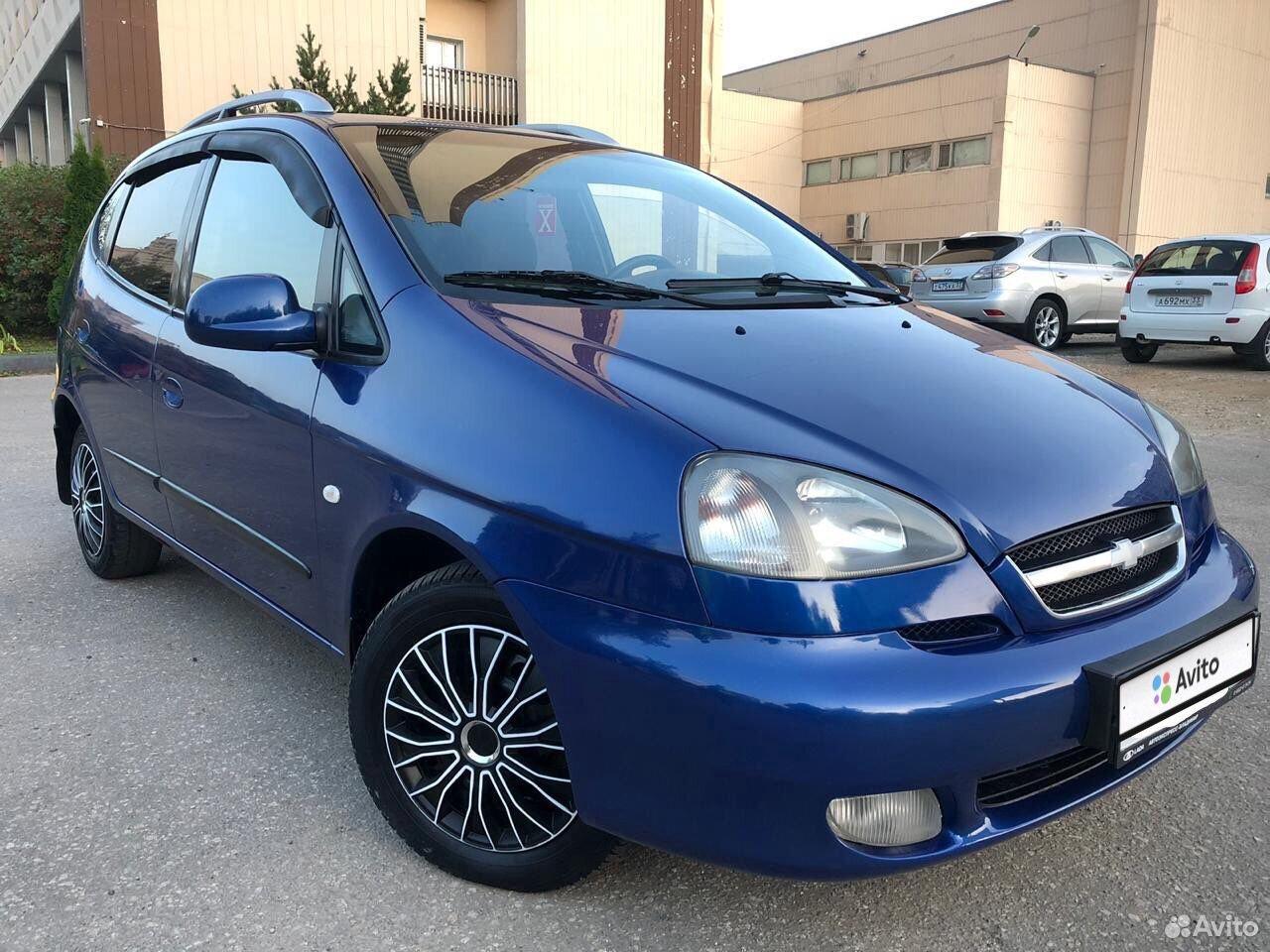 Chevrolet Rezzo, 2008  89065637466 купить 5