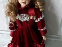 Фарфоровая кукла, интерьерная