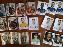 Редкие наклейки Panini к журналу Euro 2016