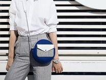 Круглая фетровая сумочка — Одежда, обувь, аксессуары в Москве