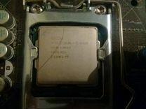 Продаю процессор+матер.память(не рабочая мать) +ви