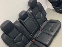 Porsche Cayenne 958 салон комфорт сиденья