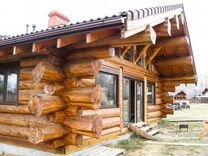 Дома из дикого сруба(Канадская рубка Post & Beam )