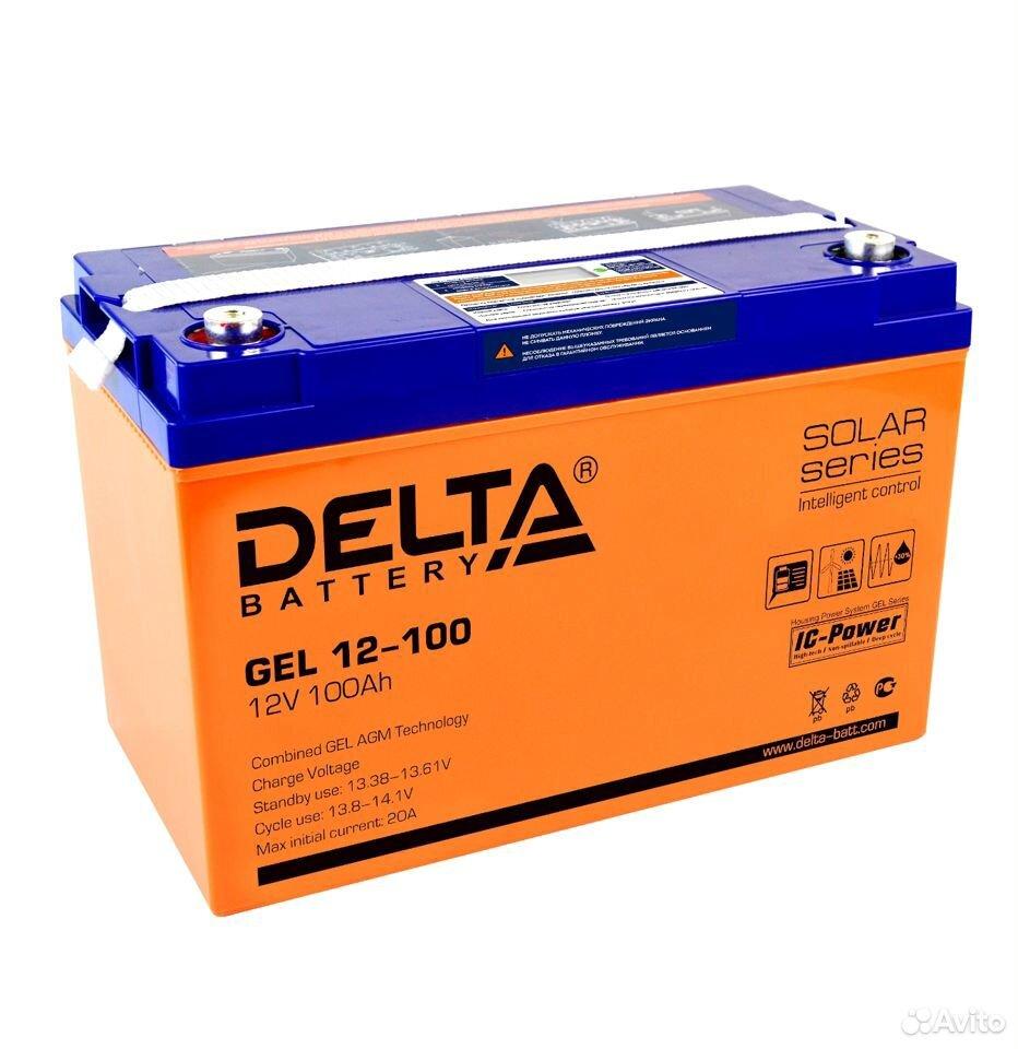 Delta GEL12-100 Аккумулятор гелевый