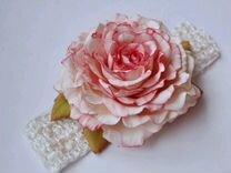 Повязки с цветами из фоамирана