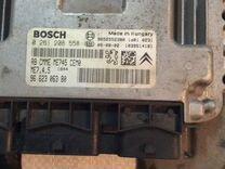 Блок управления двигателем пежо 307 1,6акпп