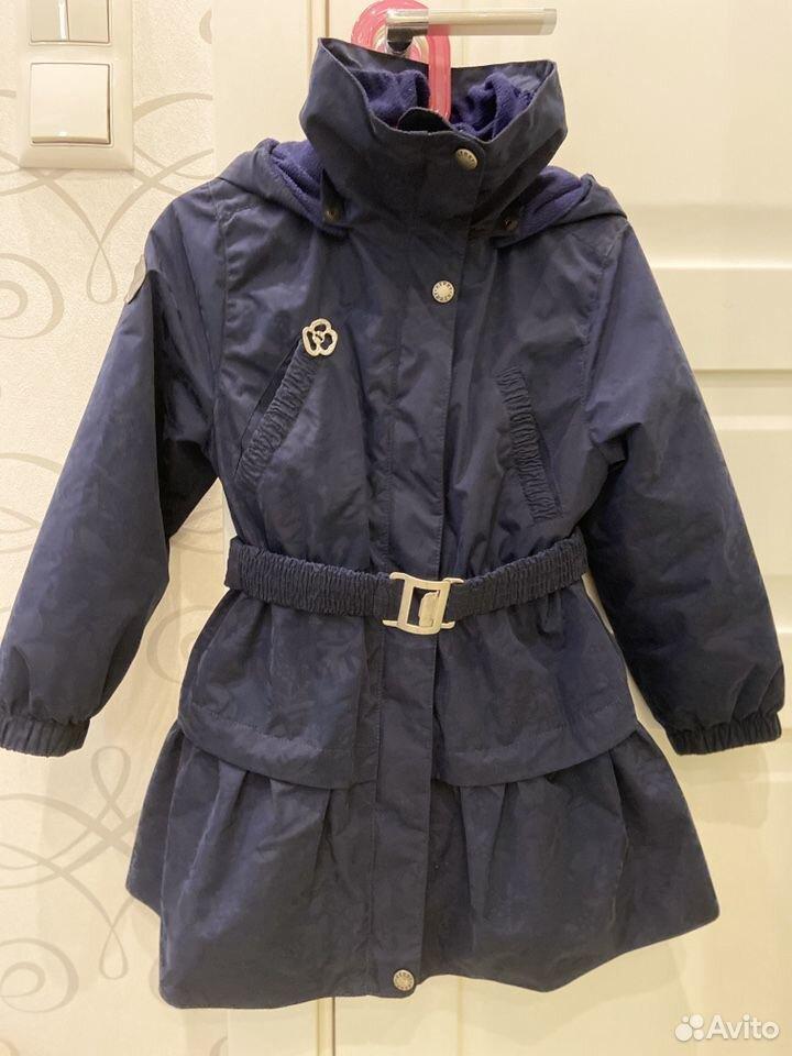 Пальто утепленное Kerry 4-5л  89119927412 купить 1