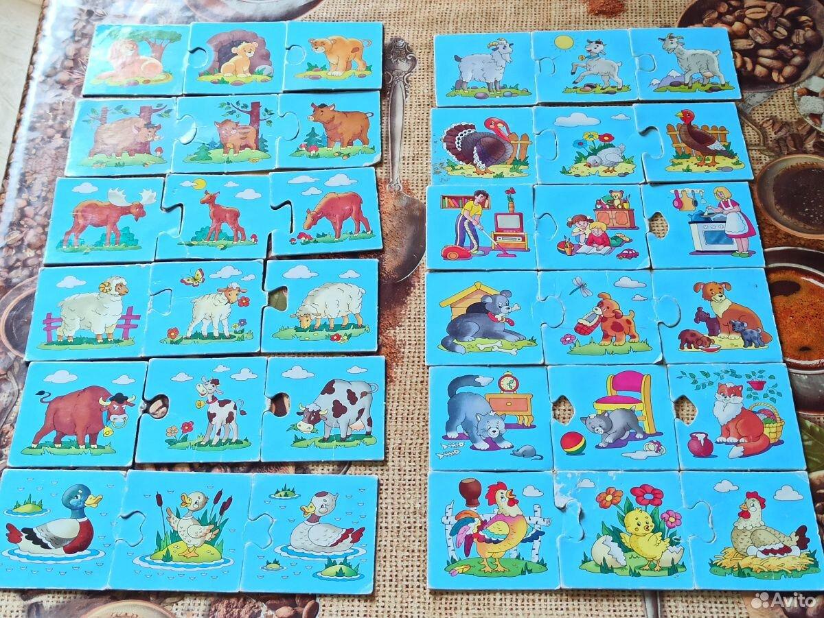 Настольные игры для малышей. Пазлы для начинающих  89023334915 купить 8