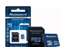 Карта памяти Micro sd HC class 10 32 GB (новая)