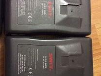 V mount батареи 4 шт и зарядка Swit