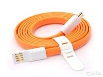 USB-кабель Vojo Trim универсальный (оранжевый,1.2)