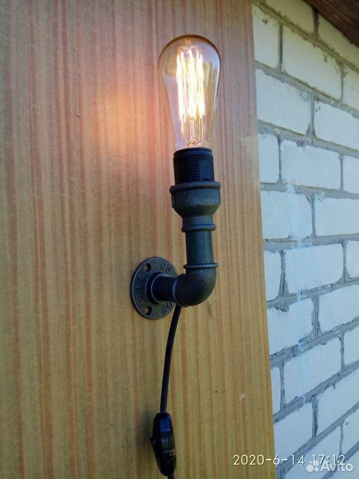Настенный светильник (бра) в стиле Лофт  89510989100 купить 1