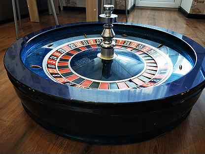 Купить рулетку для казино б у играть в карты и выигрывать сон